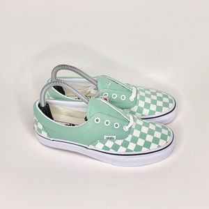 New Vans checkered Neptune green ERA